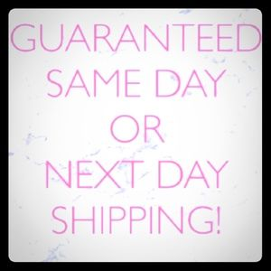 Always Same Day or Next Day Shipping!!!🖤